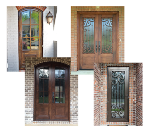 upscale custom residential entry doors